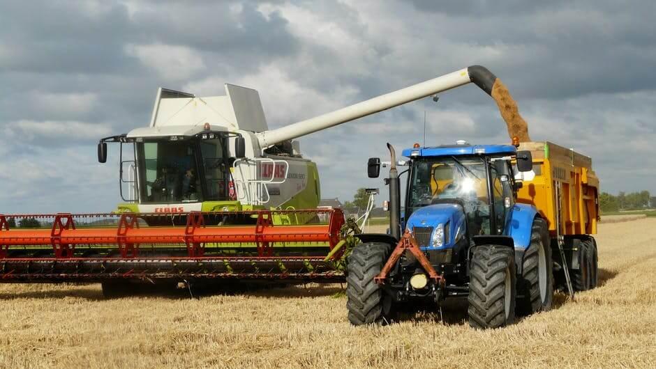 "farm harvest combine"" title="